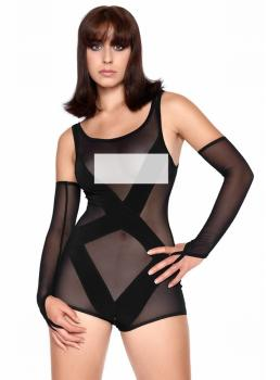 Träger Playsuit transparent Parice Catanzaro